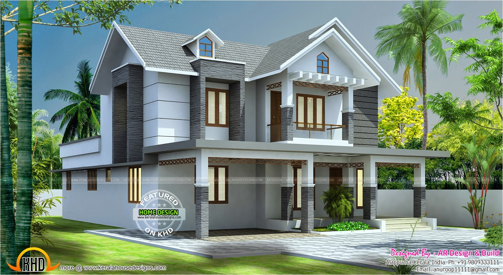 beautiful 2545 sq ft home design