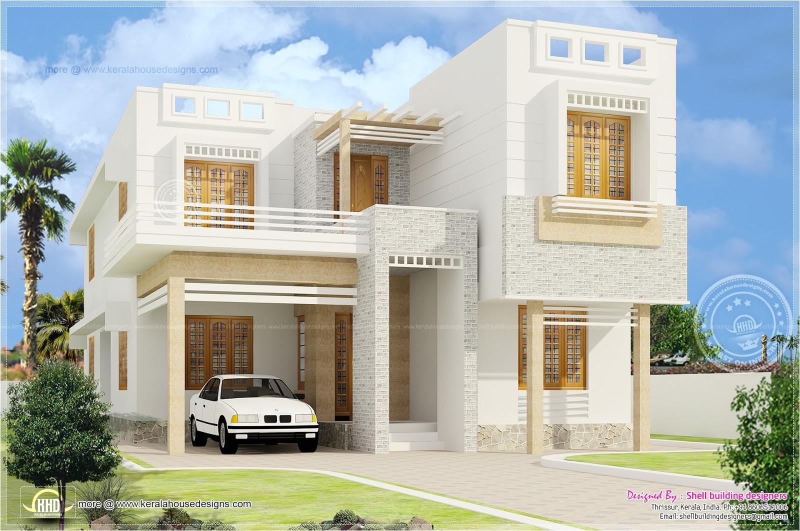 beautiful 4bedroom home design