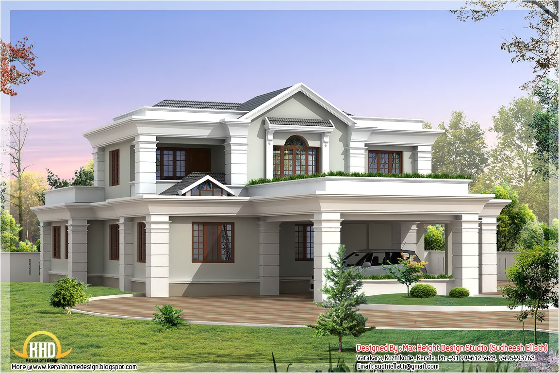 5 beautiful indian house elevations