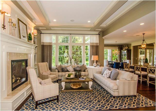 beautiful family home open floor plan
