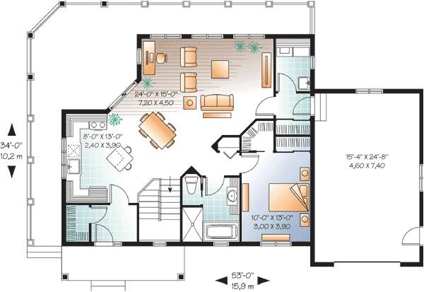 beautiful open floor plan 22312dr