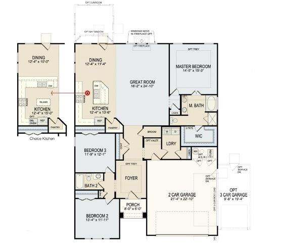 beazer homes floor plans indianapolis