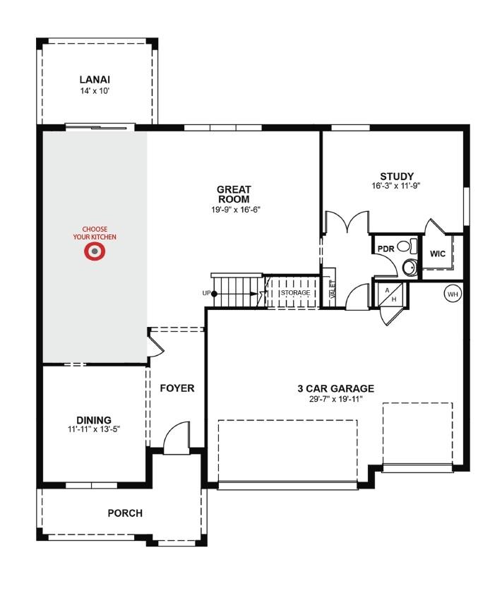 beazer homes floor plans 2005