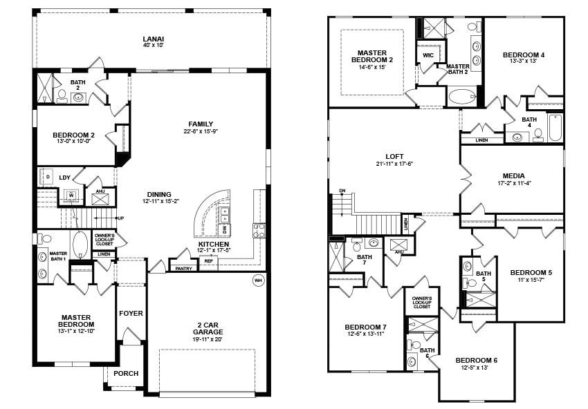 beazer homes floor plans sc