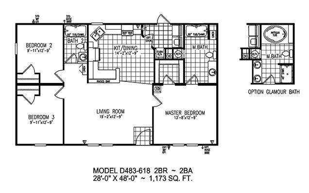 destiny manufactured homes floor plans