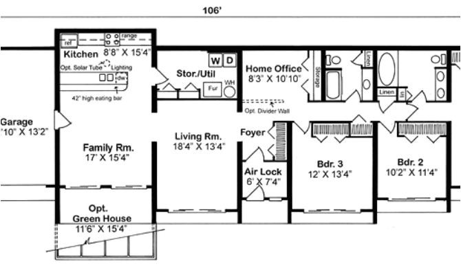 14 dream earth sheltered home floor plans photo