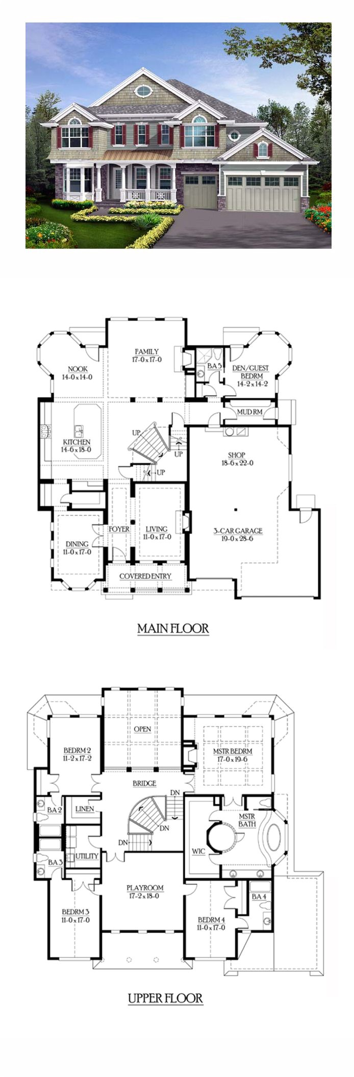 best house plans for a family of 5