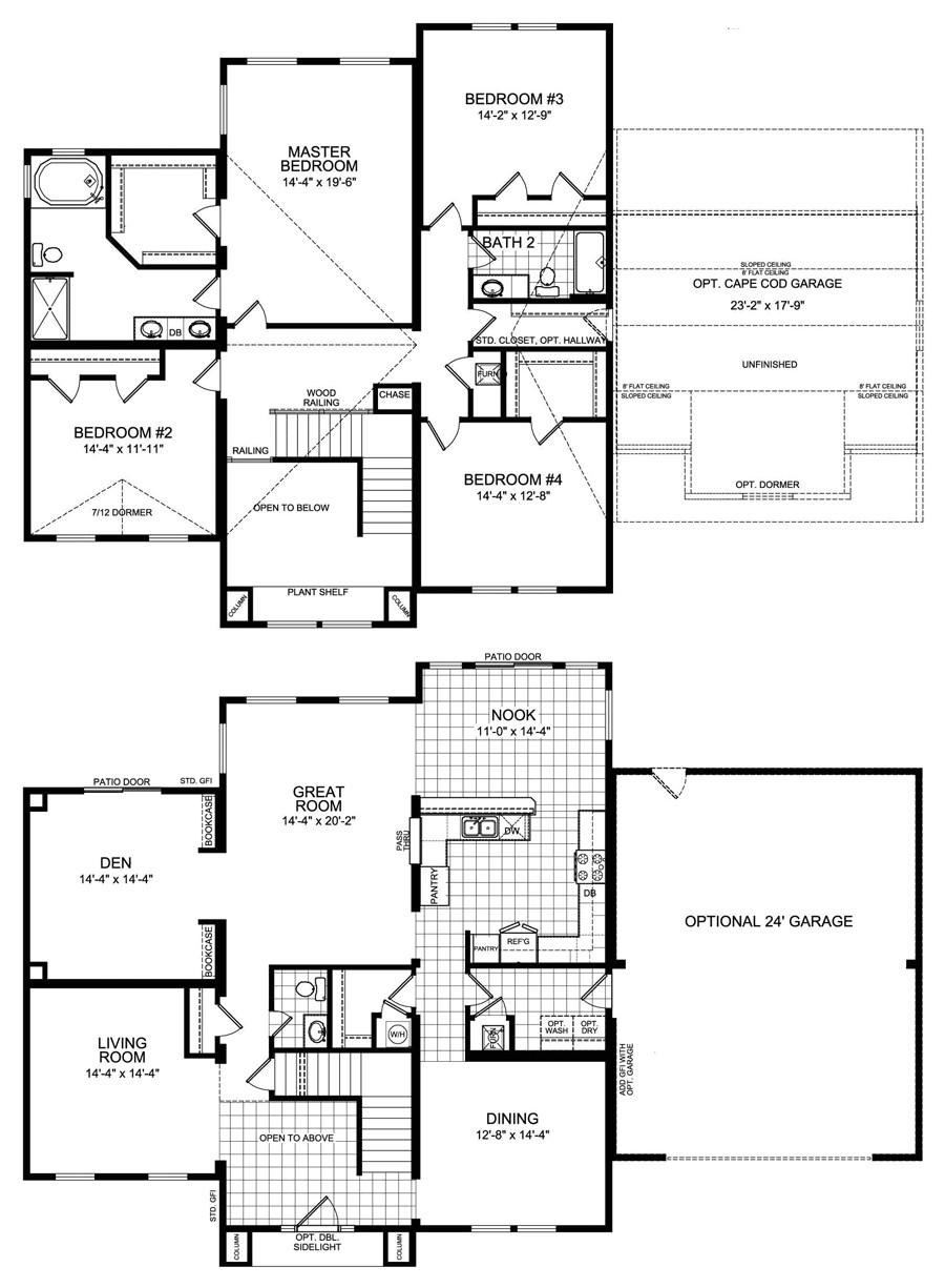 best 2 bedroom modular home floor plans