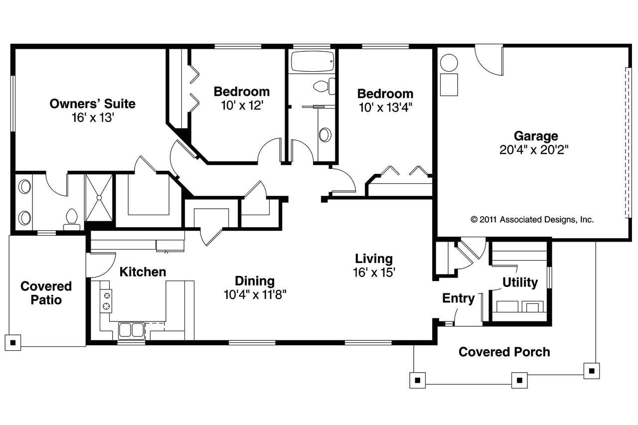 best ranch house plans