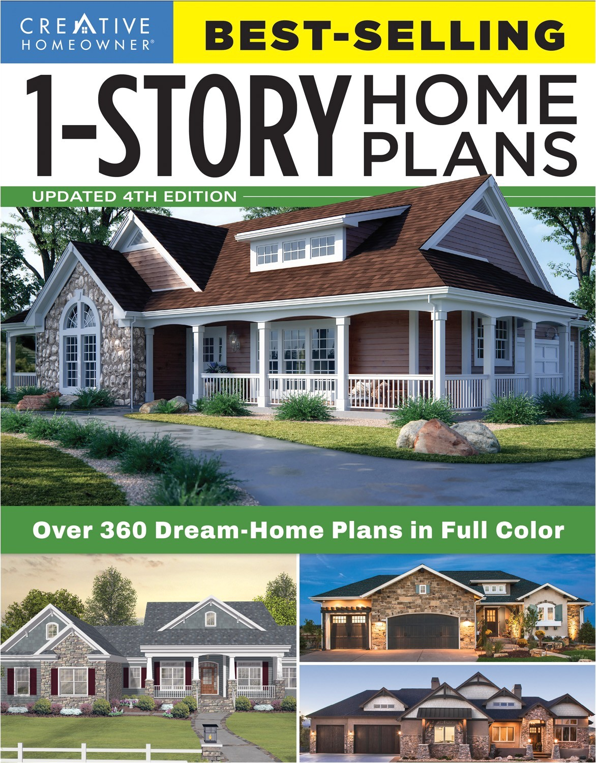 best selling 1 story home plans updated 4th edition