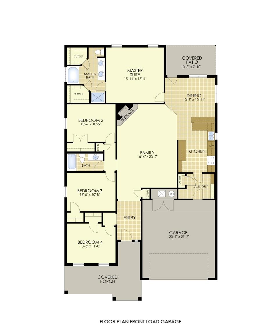 mays most popular floor plan elena