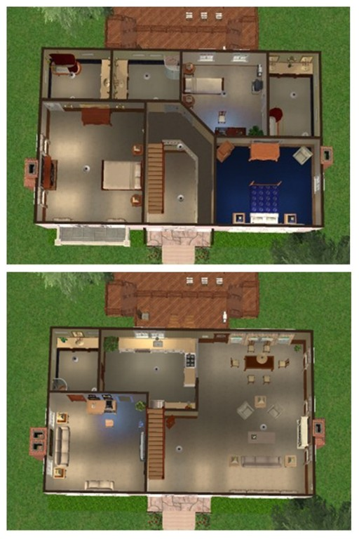 floor plan for house on bewitched