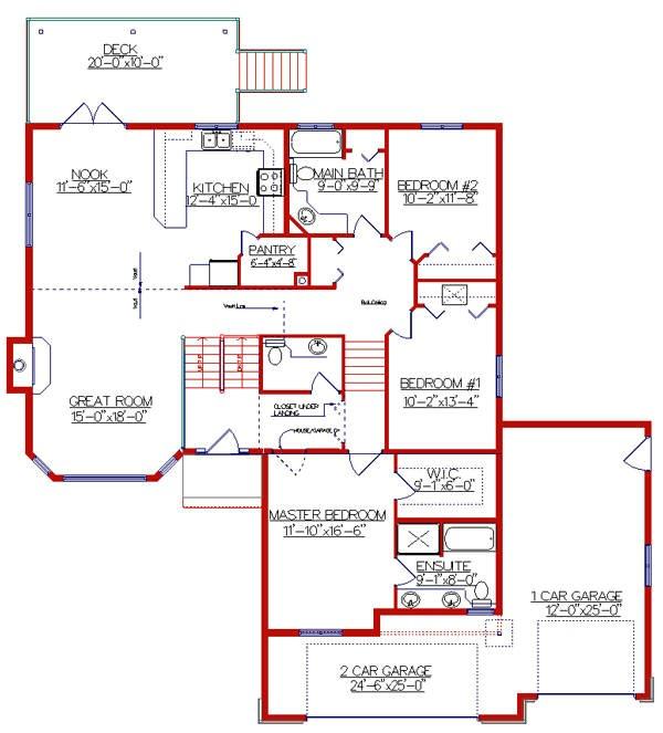 beautiful bi level home plans 7 bi level house floor plans
