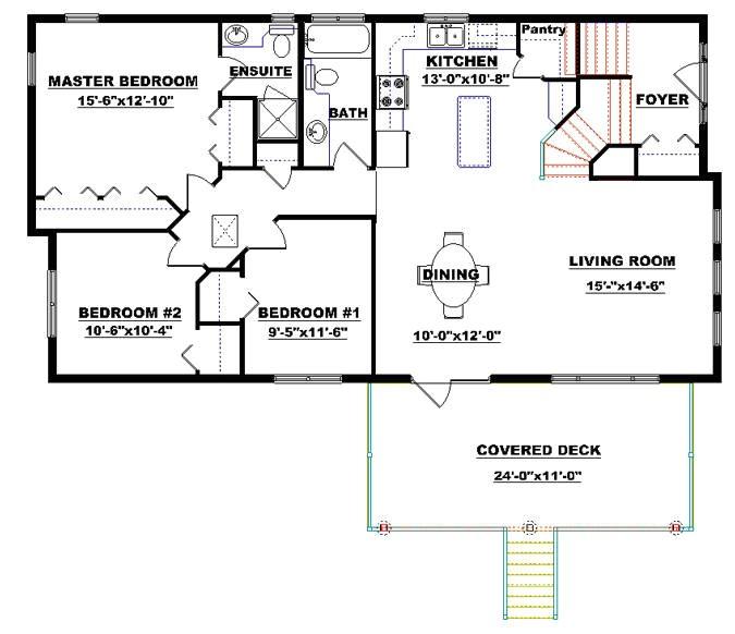 bi level home plans