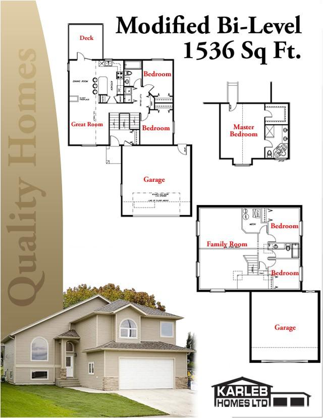 bi level house plans designs