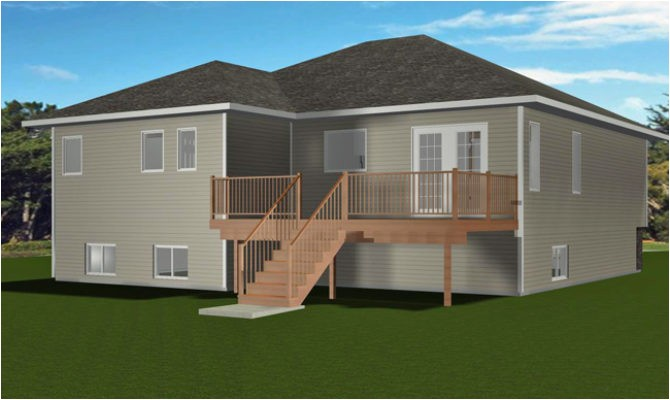 bi level home plans with garage inspiration