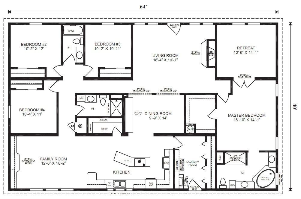 large modular home floor plans new good modular homes floor plans on ranch modular home floor plans