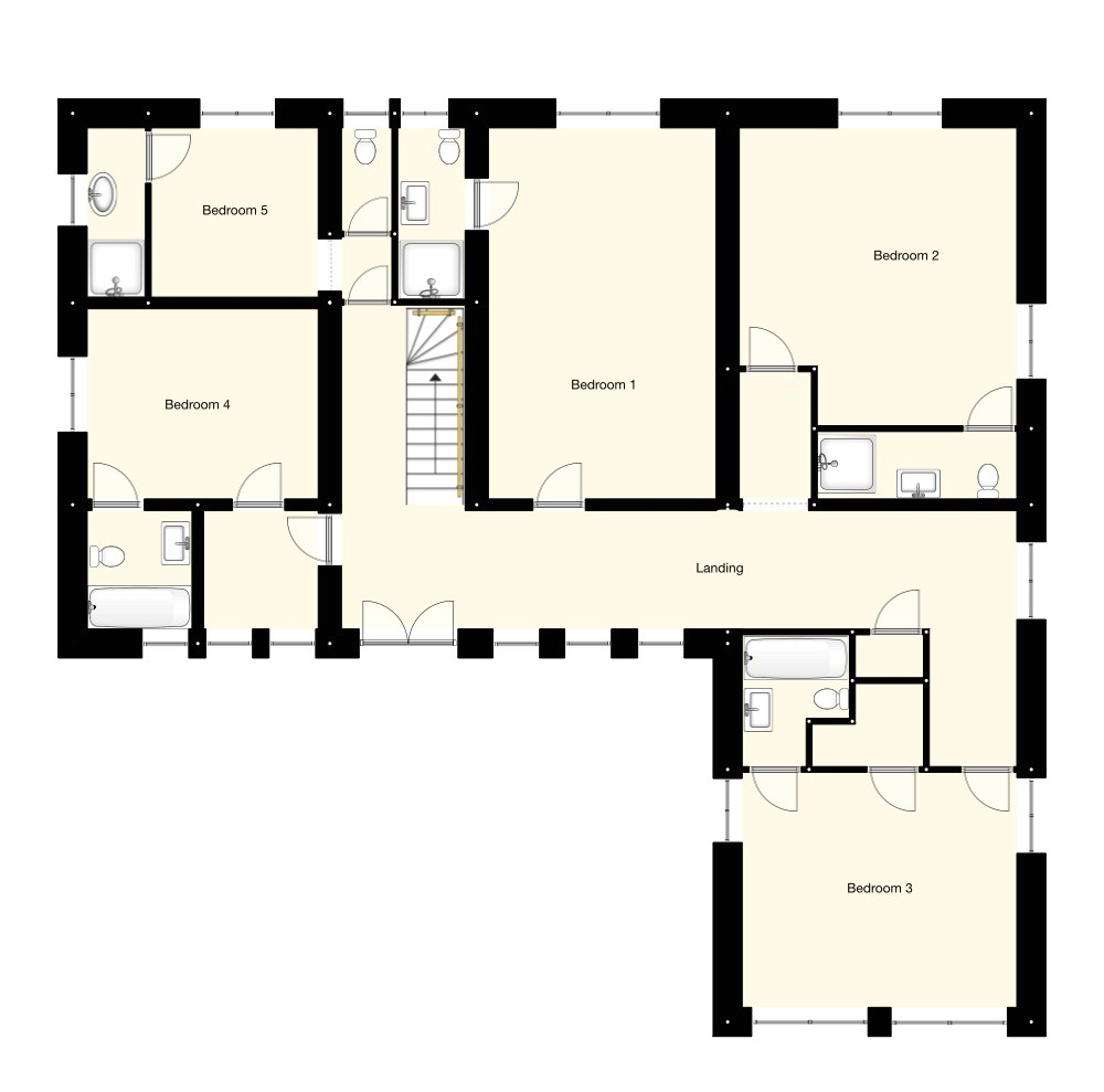 gallery floor plans french chateaux