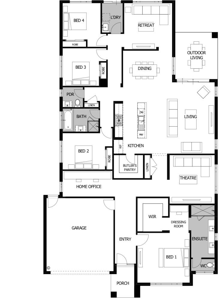 Boutique Homes Floor Plans Riviera 32 Boutique Homes