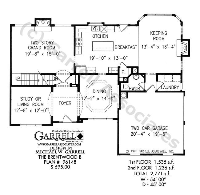 brentwood b house plan