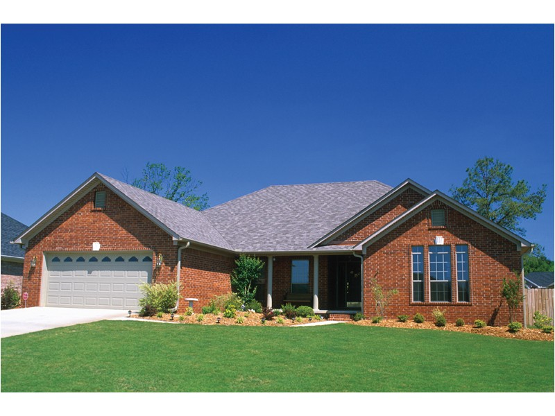 traditional small brick house plans