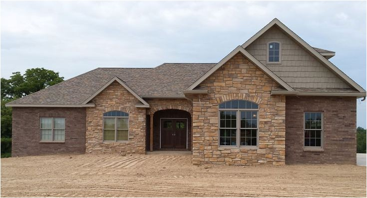 Brick House Plans with Photos Classic Brick Ranch House Plan with Full Basement the