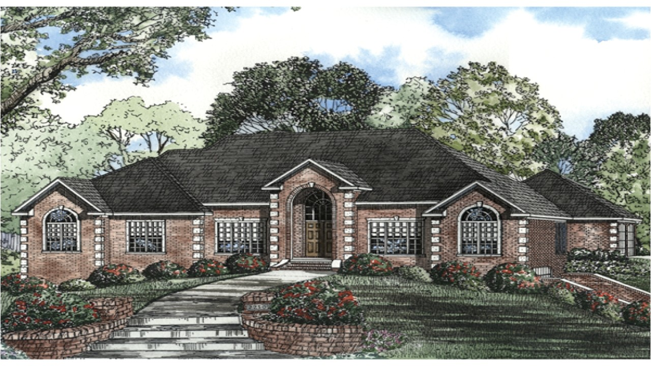 89f805839b36b947 brick ranch style house plans country style brick homes