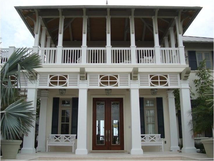 french west indies style homes