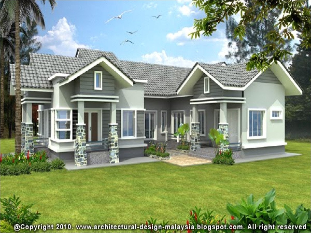 new design bungalows in nigeria
