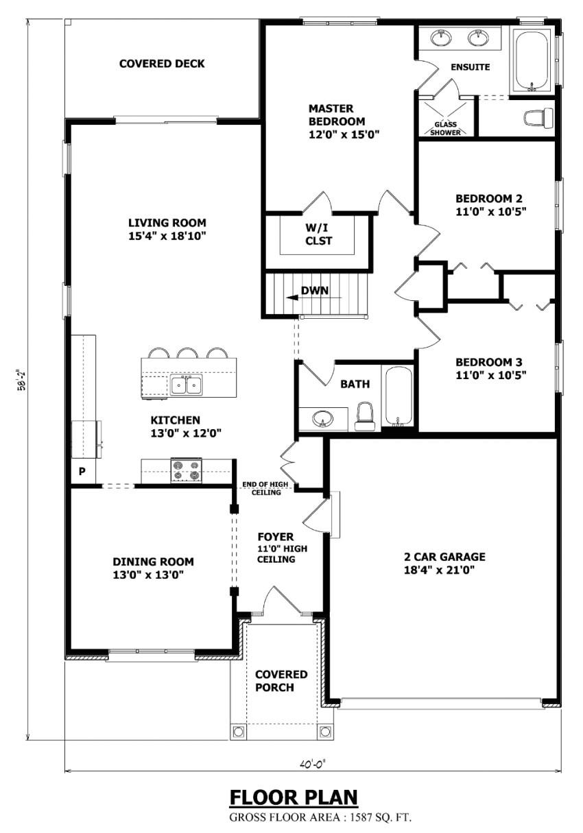 the ontario bungalow house plan