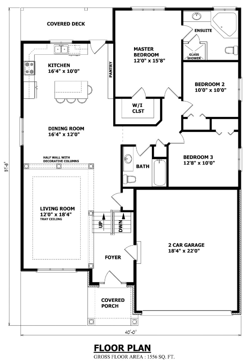 the cornwall raised bungalow house plan