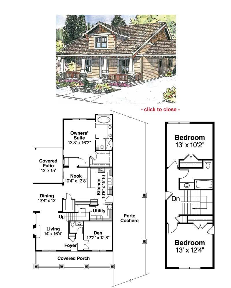 craftsman bungalow plans