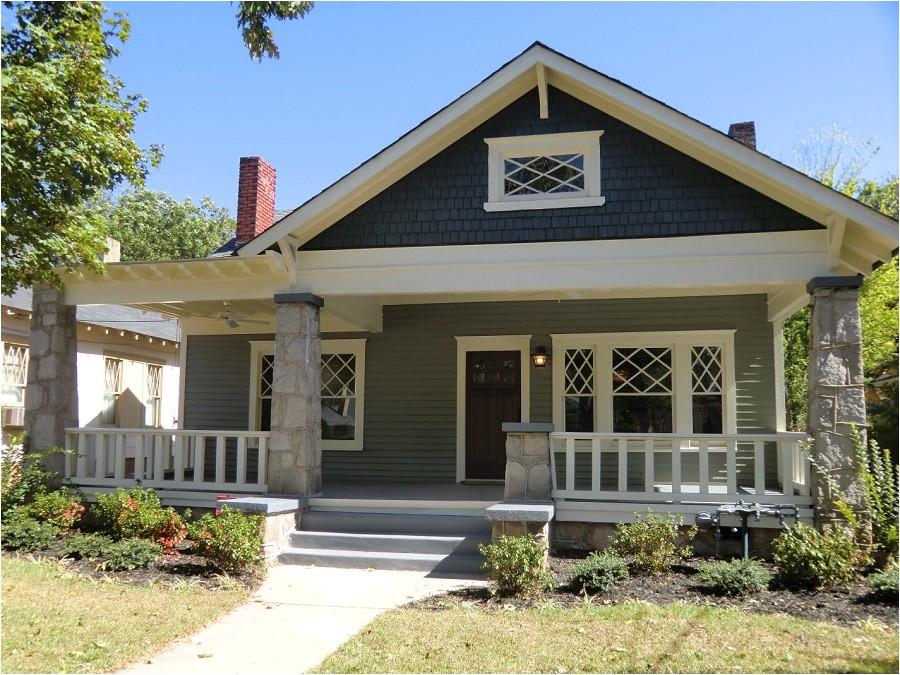 classic bungalow front porch