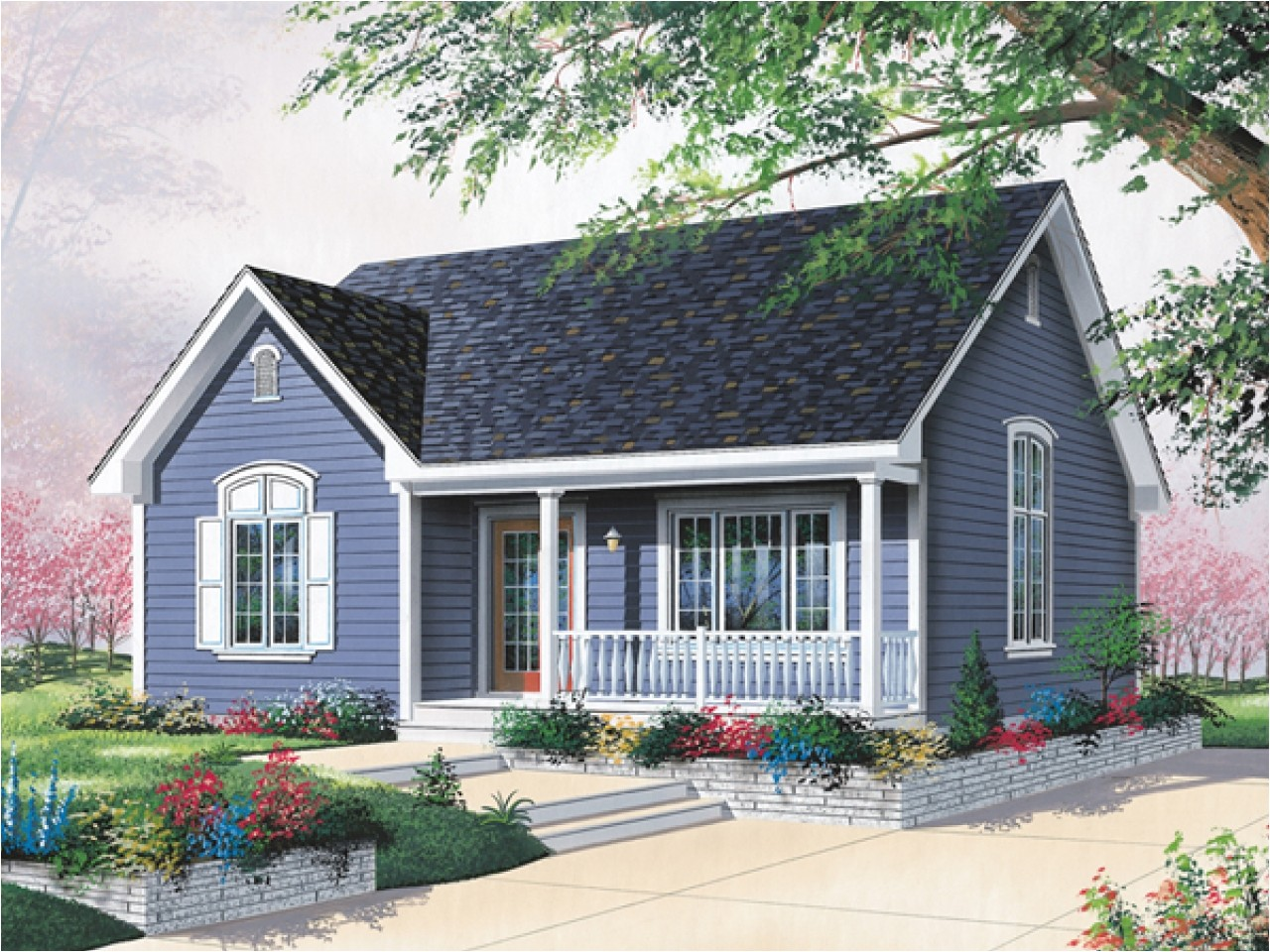 379077ec5ca81d90 bungalow style homes cottage style ranch house plans