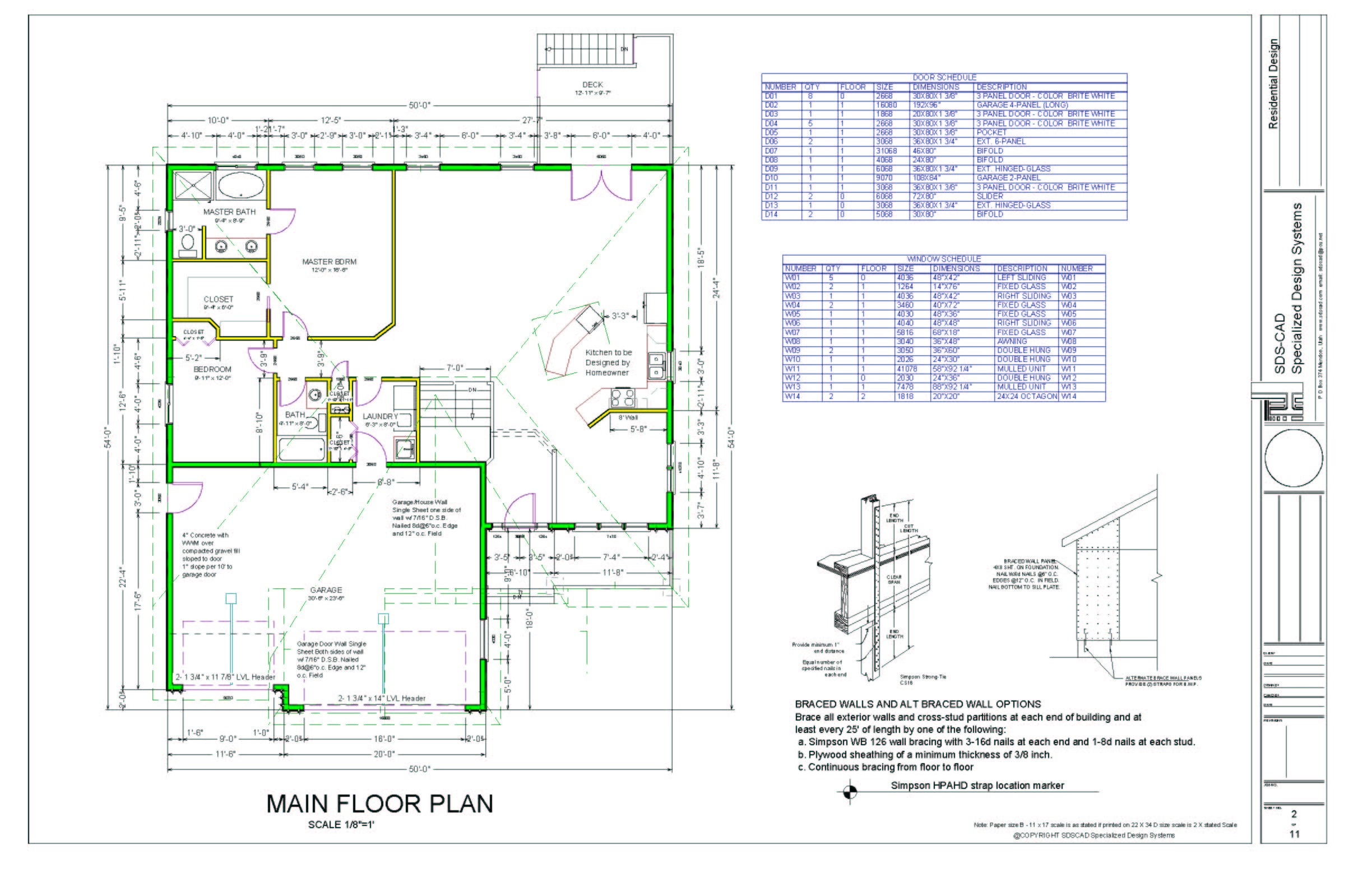 cad home floor plans