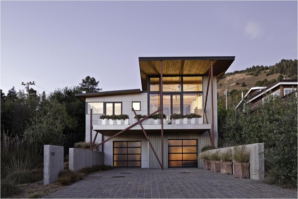 stinson beach house in california by wa design