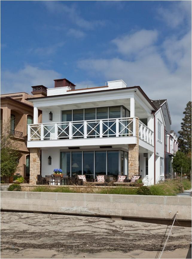 balboa island beach house with coastal interiors