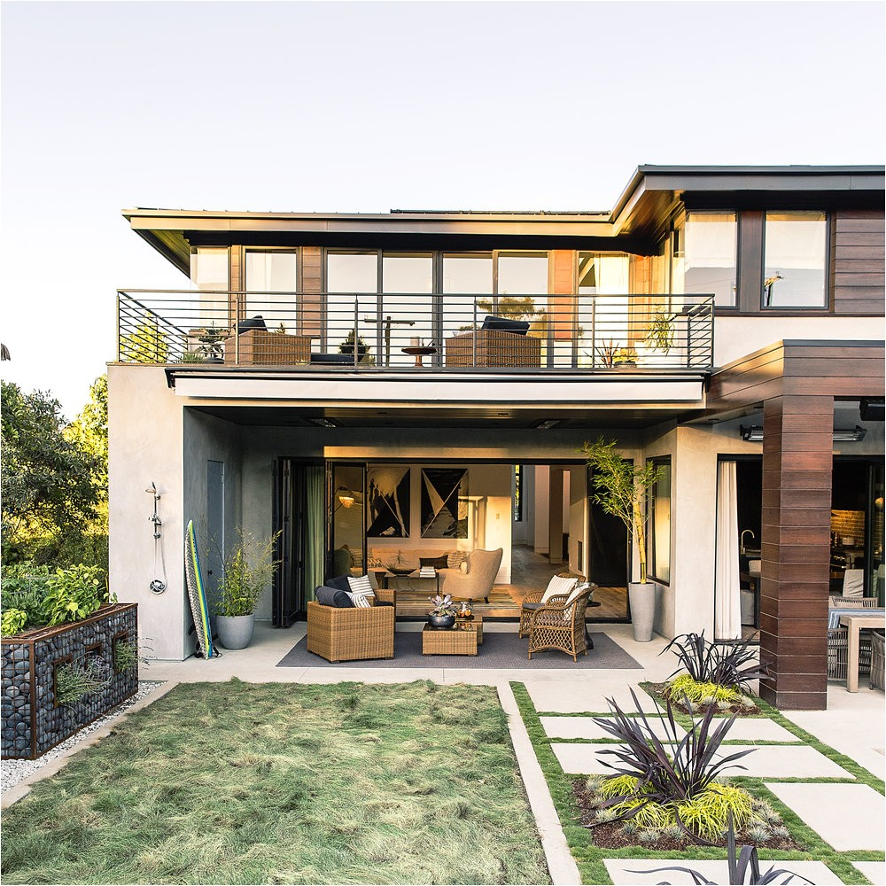 modern california style house plans