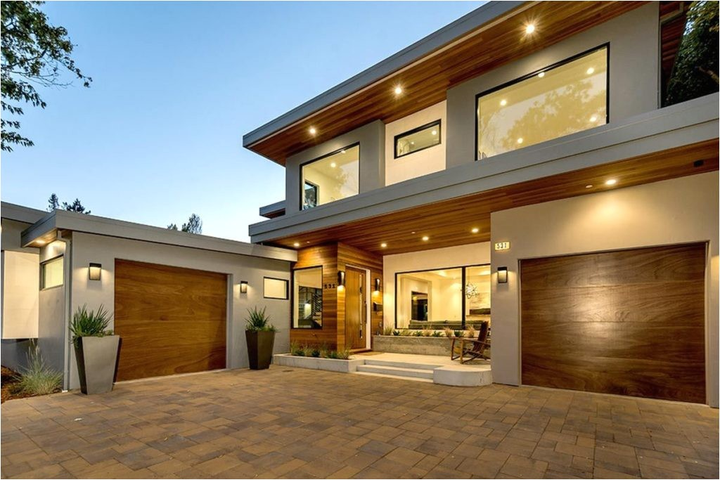 natural elegant design modern luxury house exterior with warm lamp modern luxury houses in california modern luxury house interior