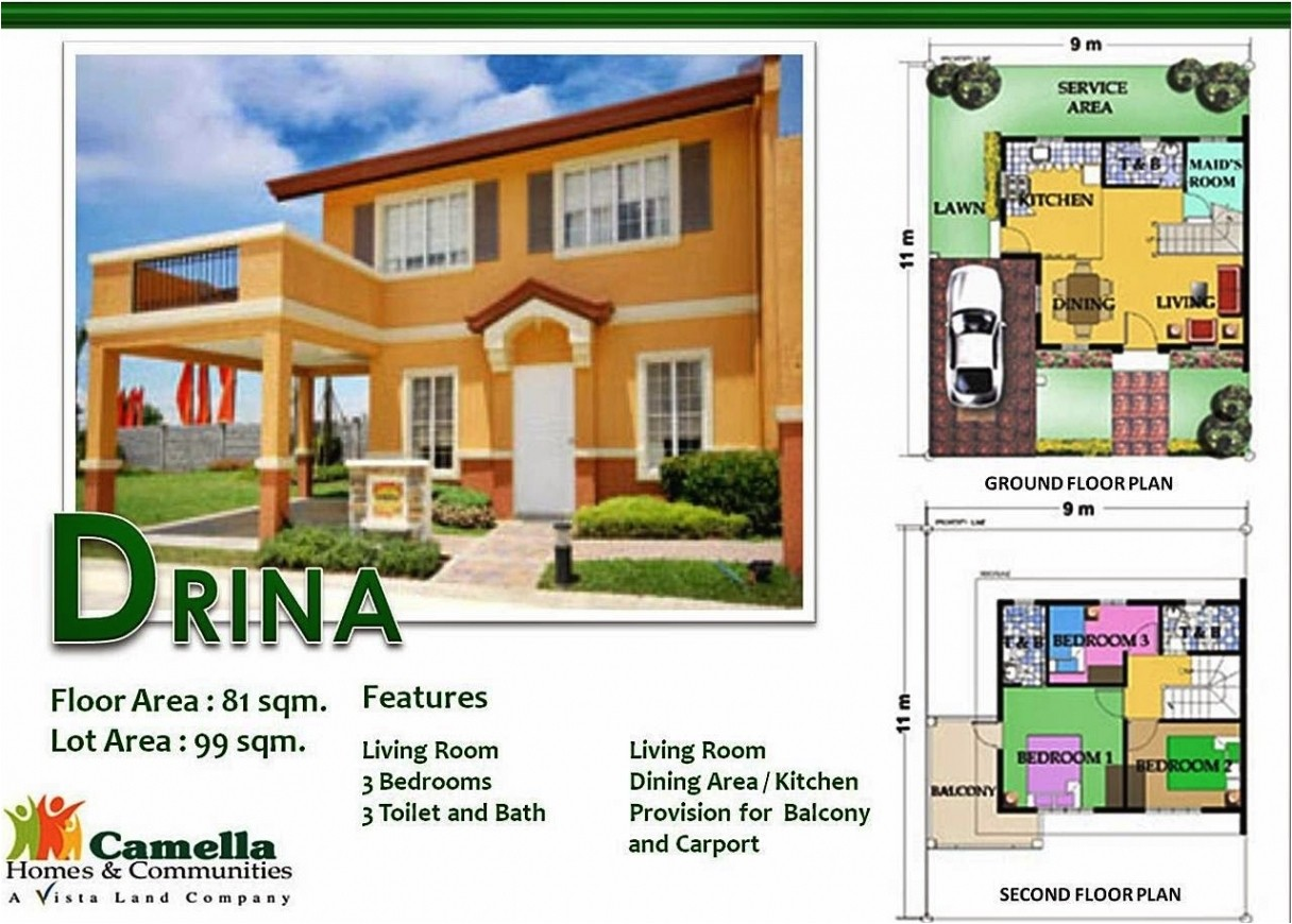 camella homes throughout great camella homes drina floor plan