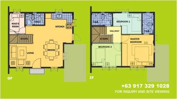 house for sale in camella tagaytay drina house model