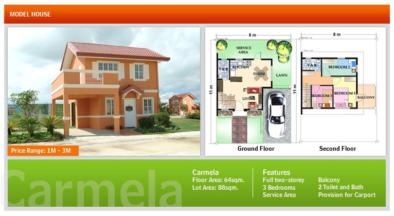 floor plans of camella bohol in bool