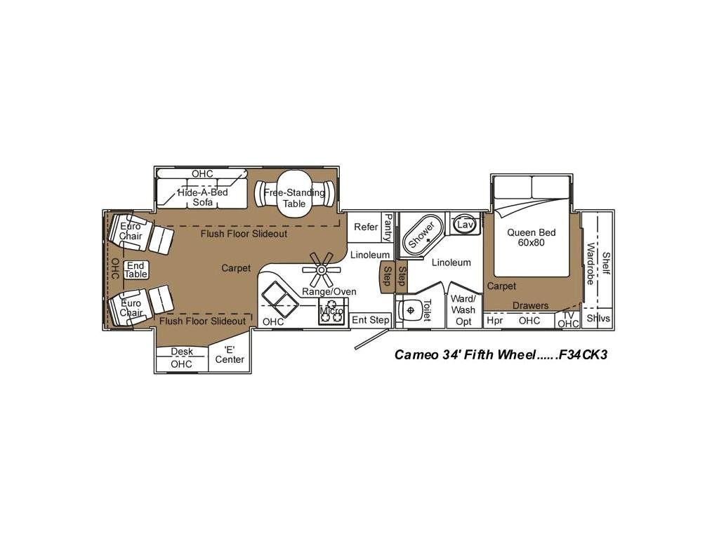 2007 cameo 34ck floor plan