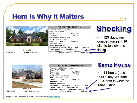 marketing plan to sell a house