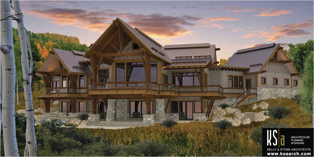 canadian timberframes the spanish peaks
