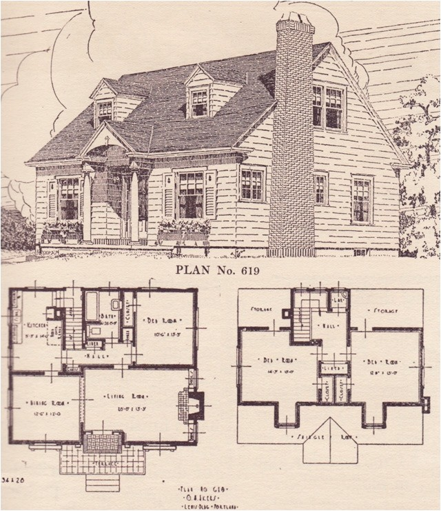 cape cod style home plans