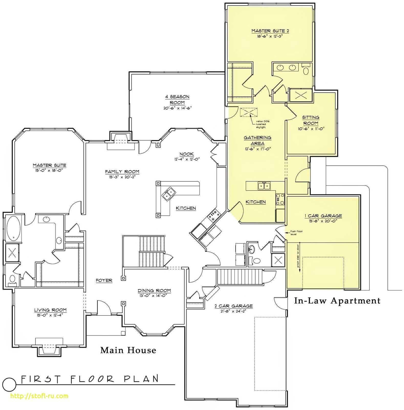 cape cod house plans with walkout basement