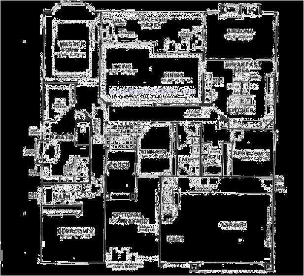 carrington floor plan