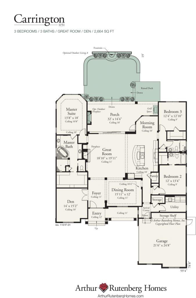carrington homes floor plans