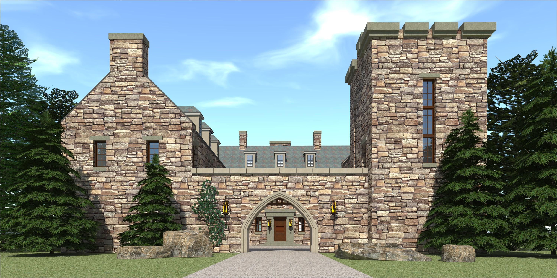 castle house plans